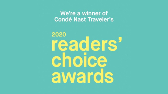 CNT Reader's Choice Award WINNER 2020.