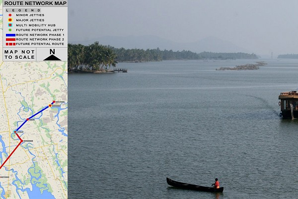 KERALA RIDES THE WAVES –  Kochi set to have the country's first 'Water Metro'